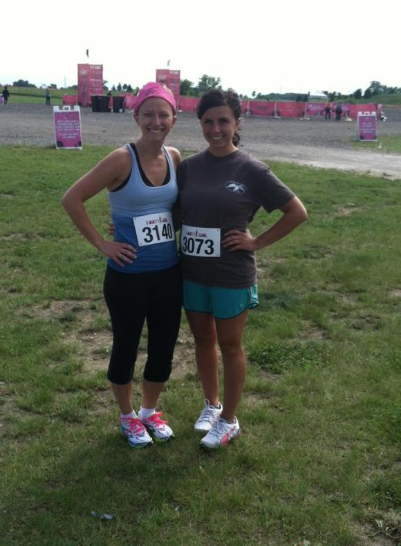 Pre-Dirty Girl Mud Run