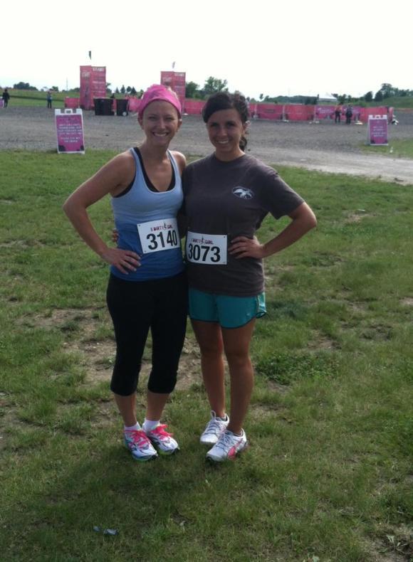 Pre-Dirty Girl Mud Run